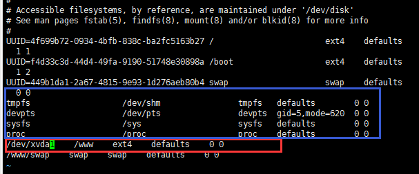 主机重启之后BT面板显示挂载磁盘不对检查及描述